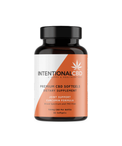 Intentional CBD Curcumin Softgels 750mg