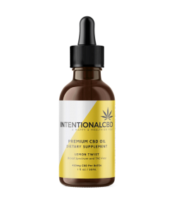 Intentional CBD Tinctures