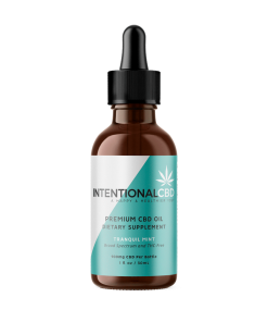 Intentional CBD Mint Tincture 900mg