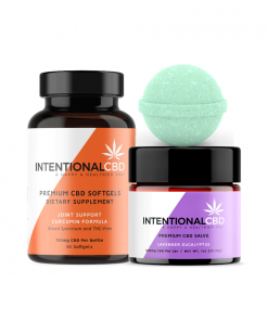 Recover & Restore - CBD Wellness Gifts & Bundles For Him Her - Joint & Muscle Recovery - Intentional CBD ICBD
